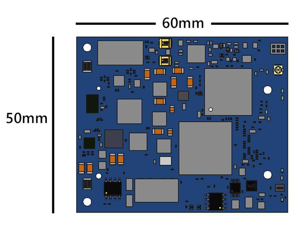 ATOMAS-MINI-LVDS - Dimensions