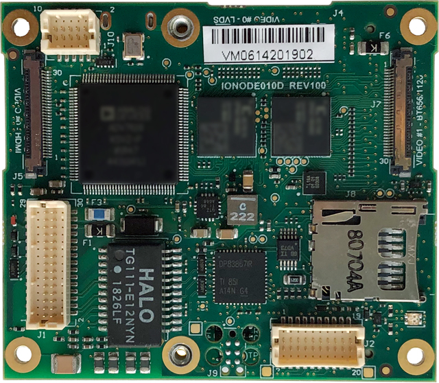 ATOMAS-MINI-LVDS - Top Side